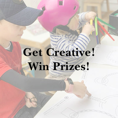 Parent & child creative challenge! With prizes!