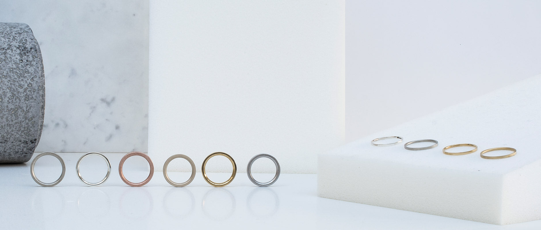 Alice Made This wedding rings
