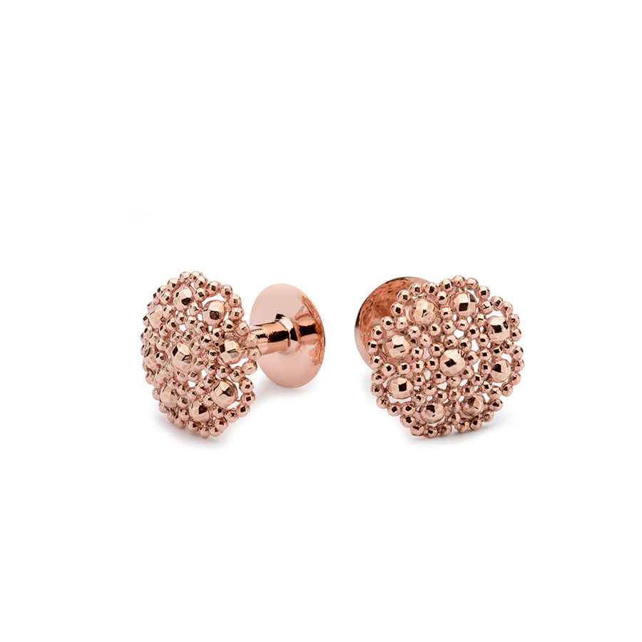 Rose gold cufflinks | Alice Made This | George