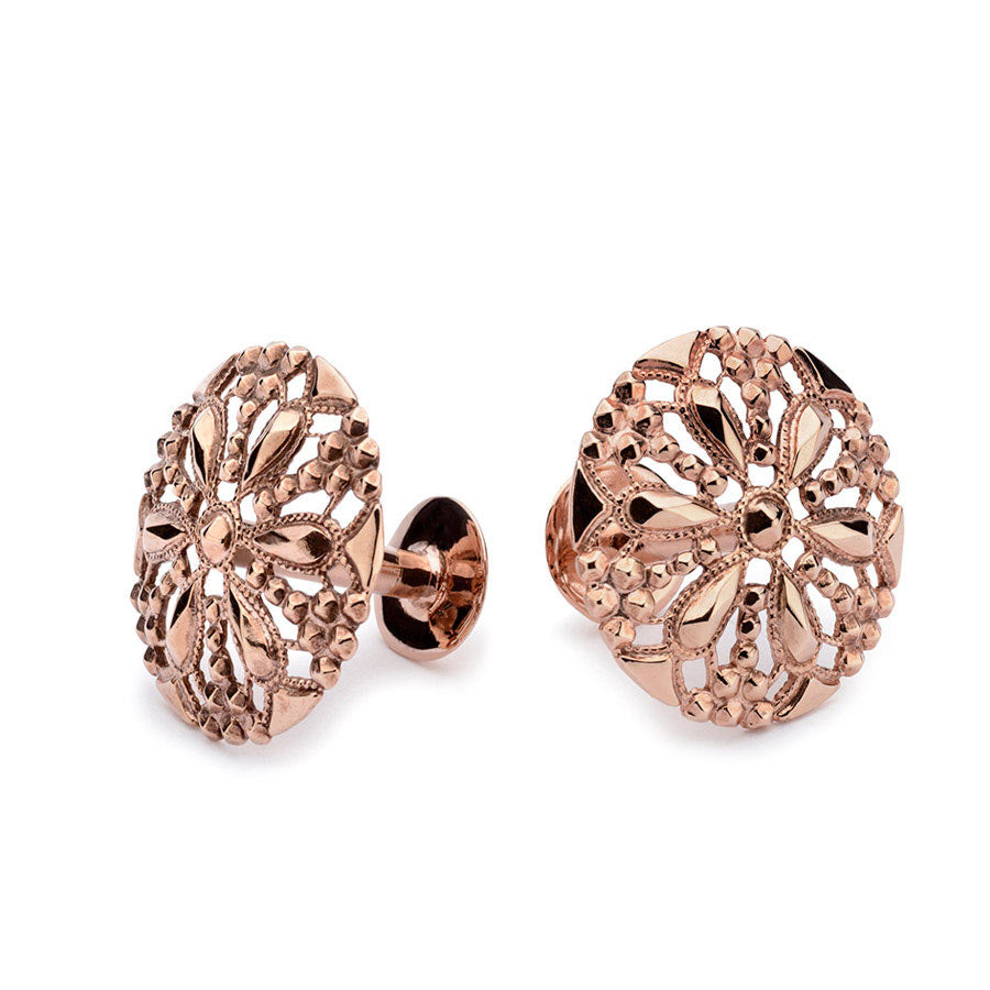 Rose gold cufflinks | Alice Made This | Marmaduke
