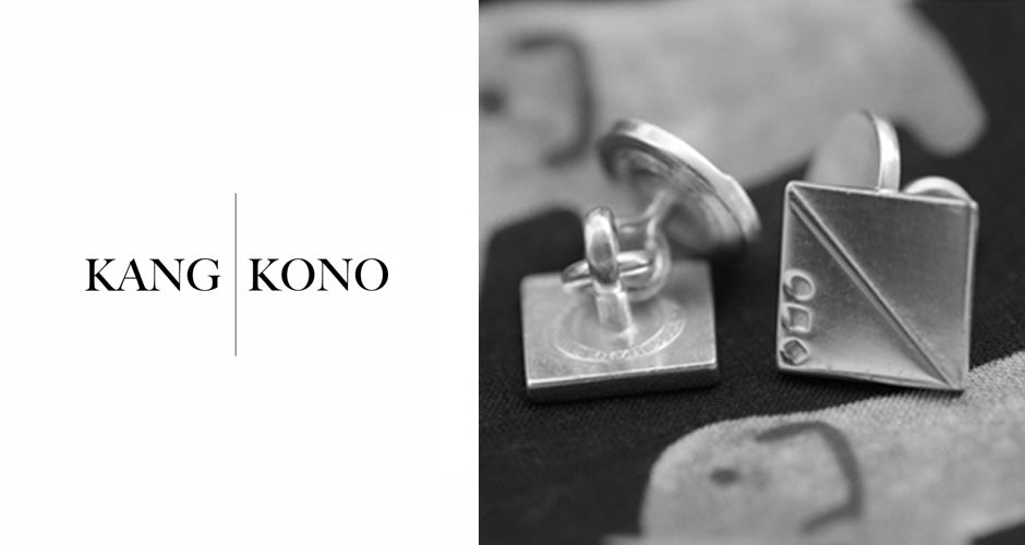 Military cufflinks | Alice Made This | Kang Kono