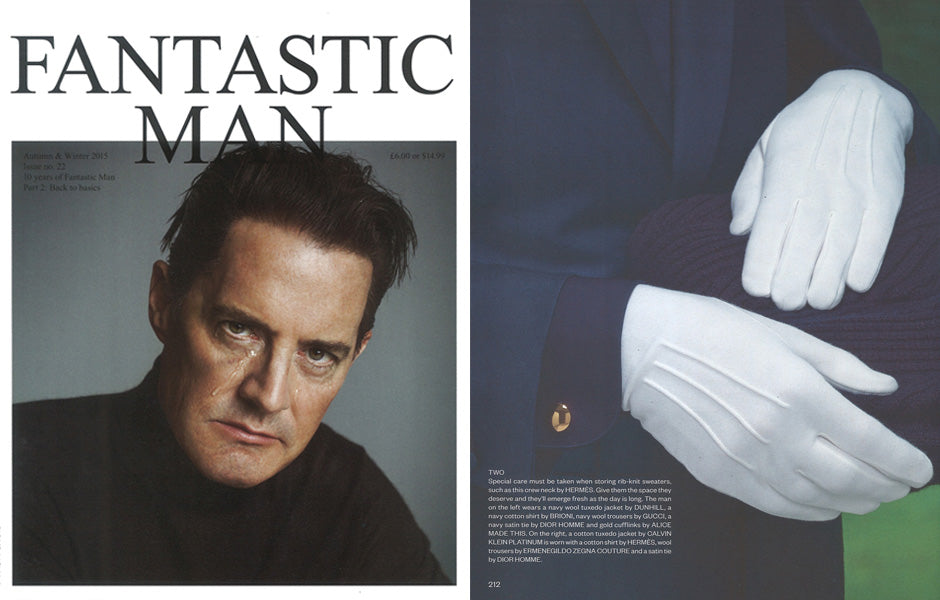 Gold cufflinks | Fantastic Man | Alice Made This