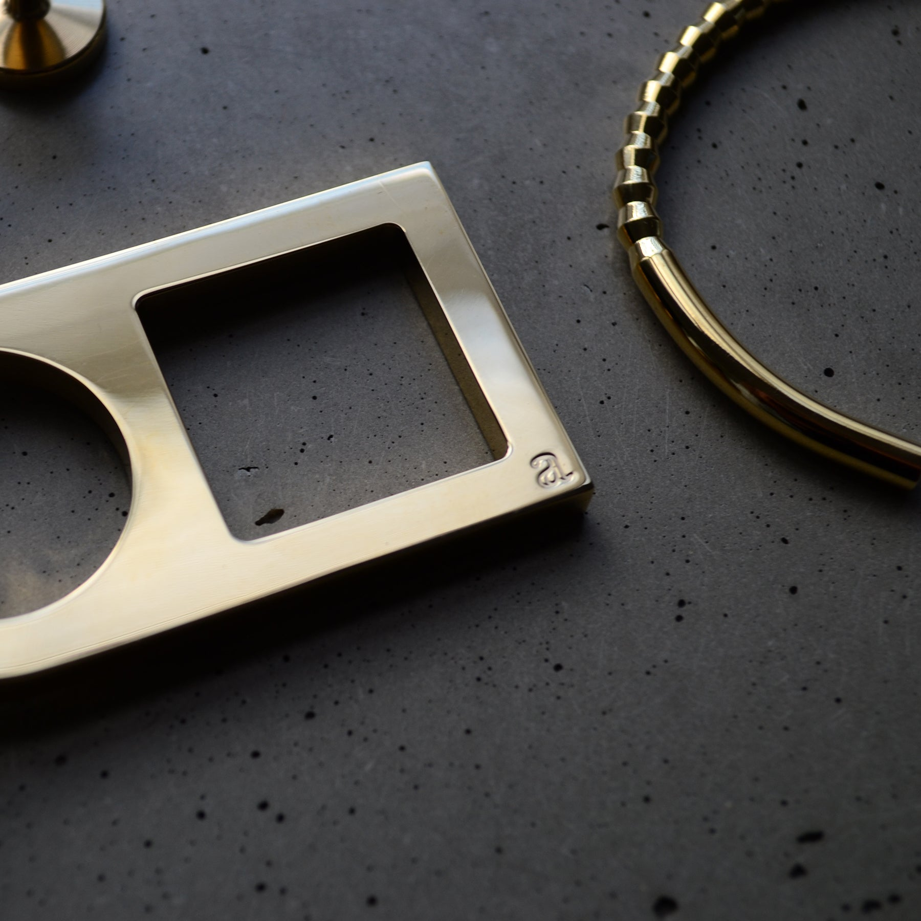 Brass key ring | Steel key ring | Alice Made This