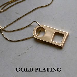 Gold pendant | Alice Made This