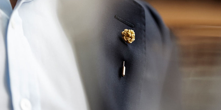How to wear a lapel pin | Lapel pins| Alice Made This