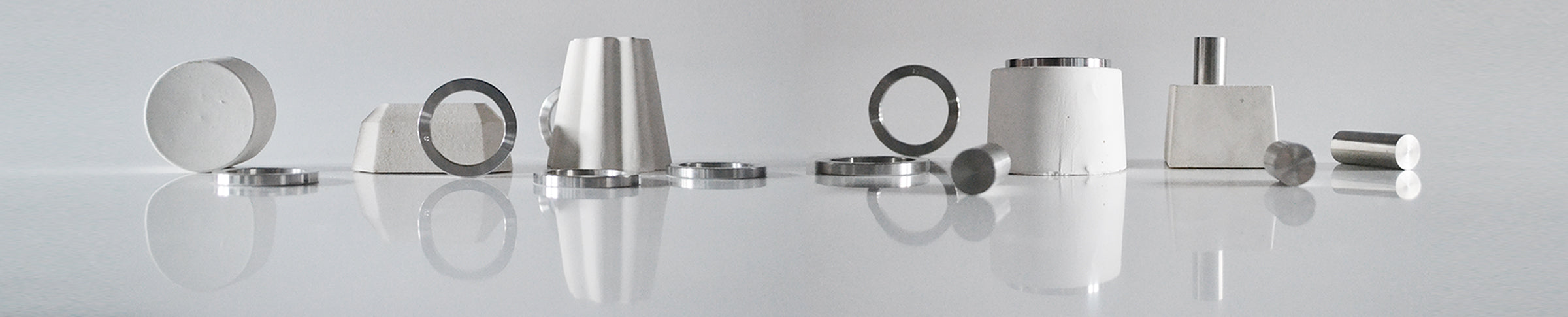 Steel accessories | Steel cufflinks | Alice Made This