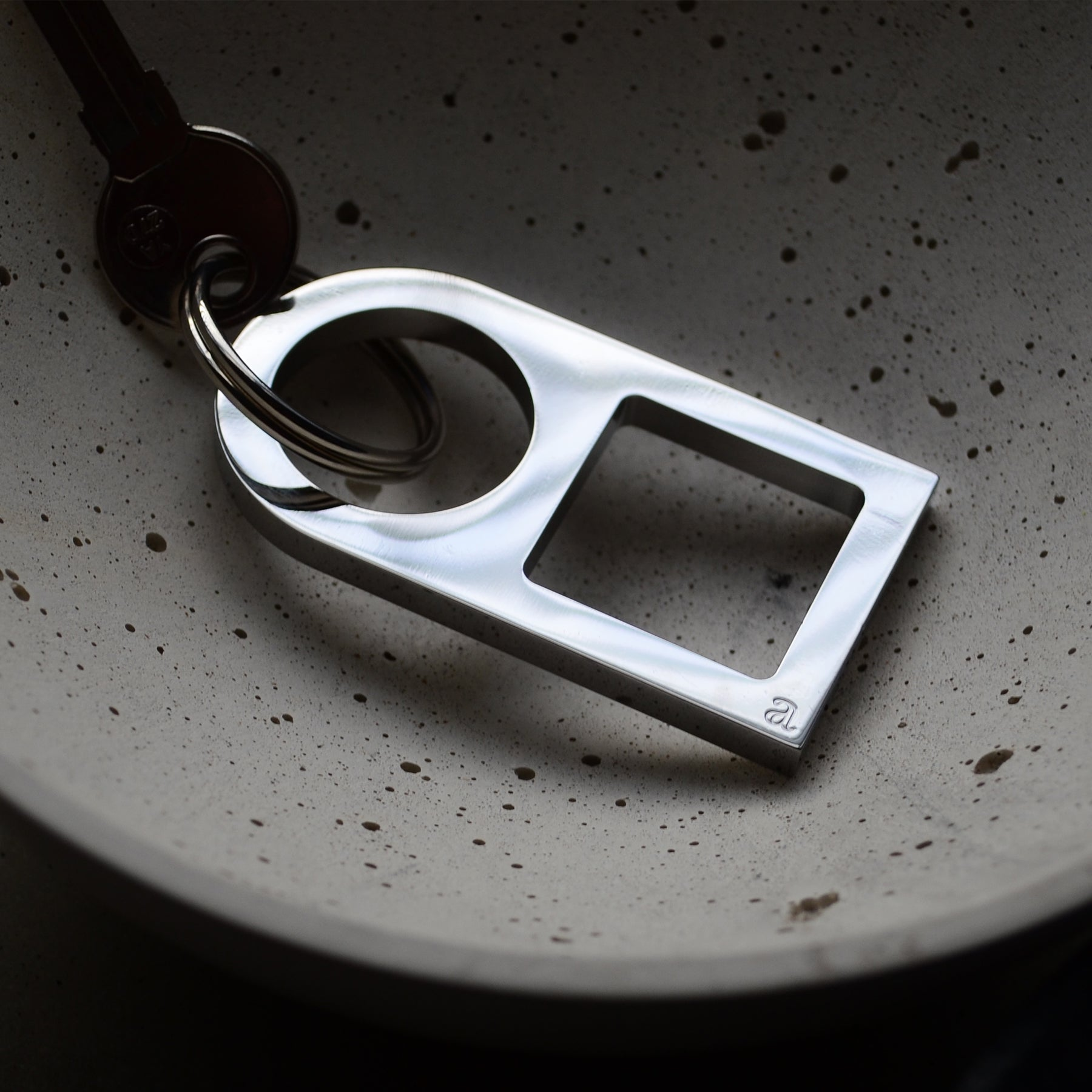 Steel key ring | Brass key ring | Alice Made This