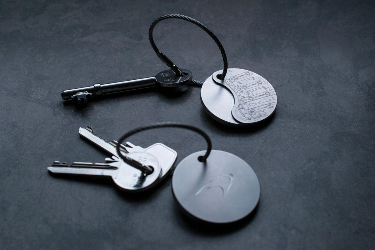 steel key ring | McLaren key ring | Studio AMT