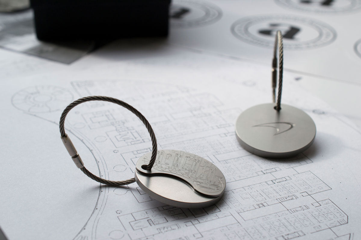 Steel key ring | McLaren key ring | Alice Made This McLaren accessories