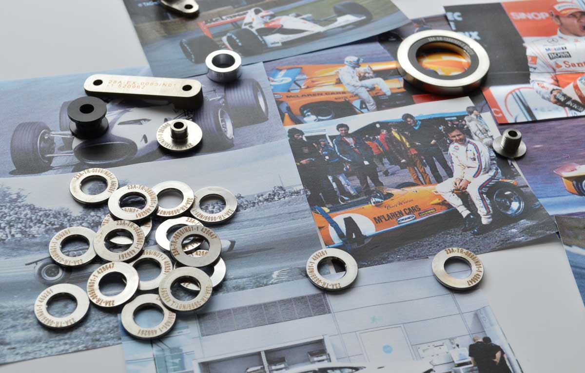 steel cufflinks | steel key ring | Studio AMT