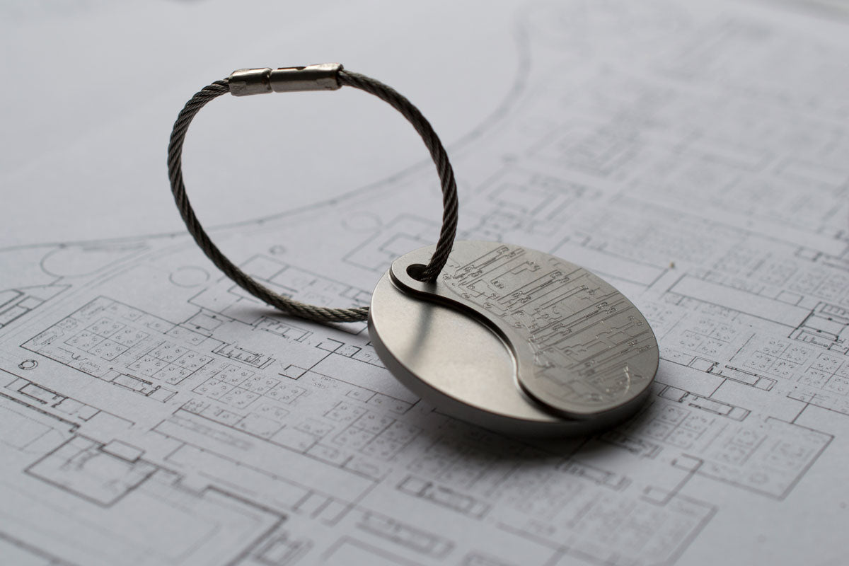 McLaren Automotive key ring | Alice Made This limited edition accessories