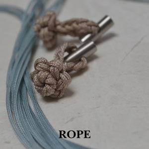 Rope cufflinks | Knot cufflinks | Alice Made This