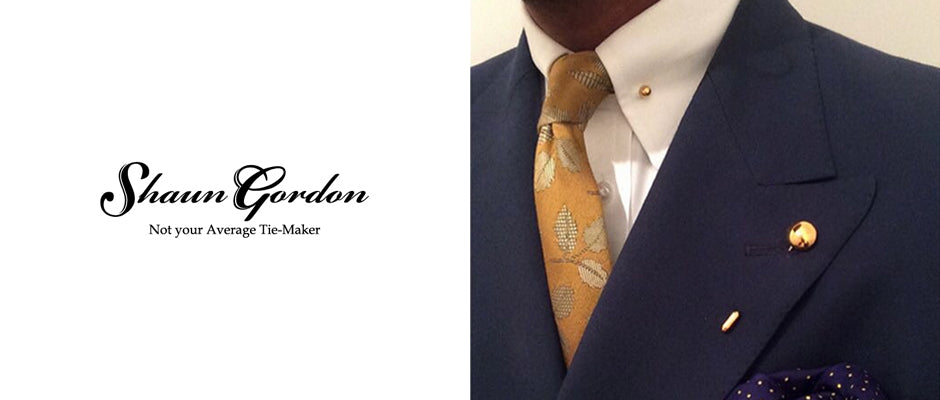 Gold lapel pin | Shaun Gordon | Alice Made This