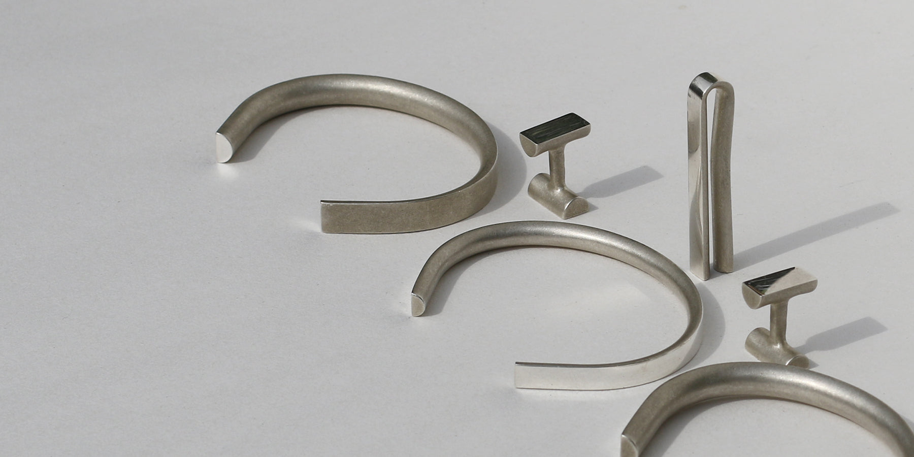 Solid silver cufflinks | Alice Made This