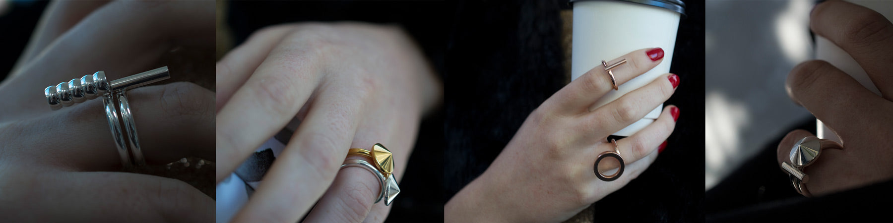 stacking rings | minimal jewellery | valentines gifts for her