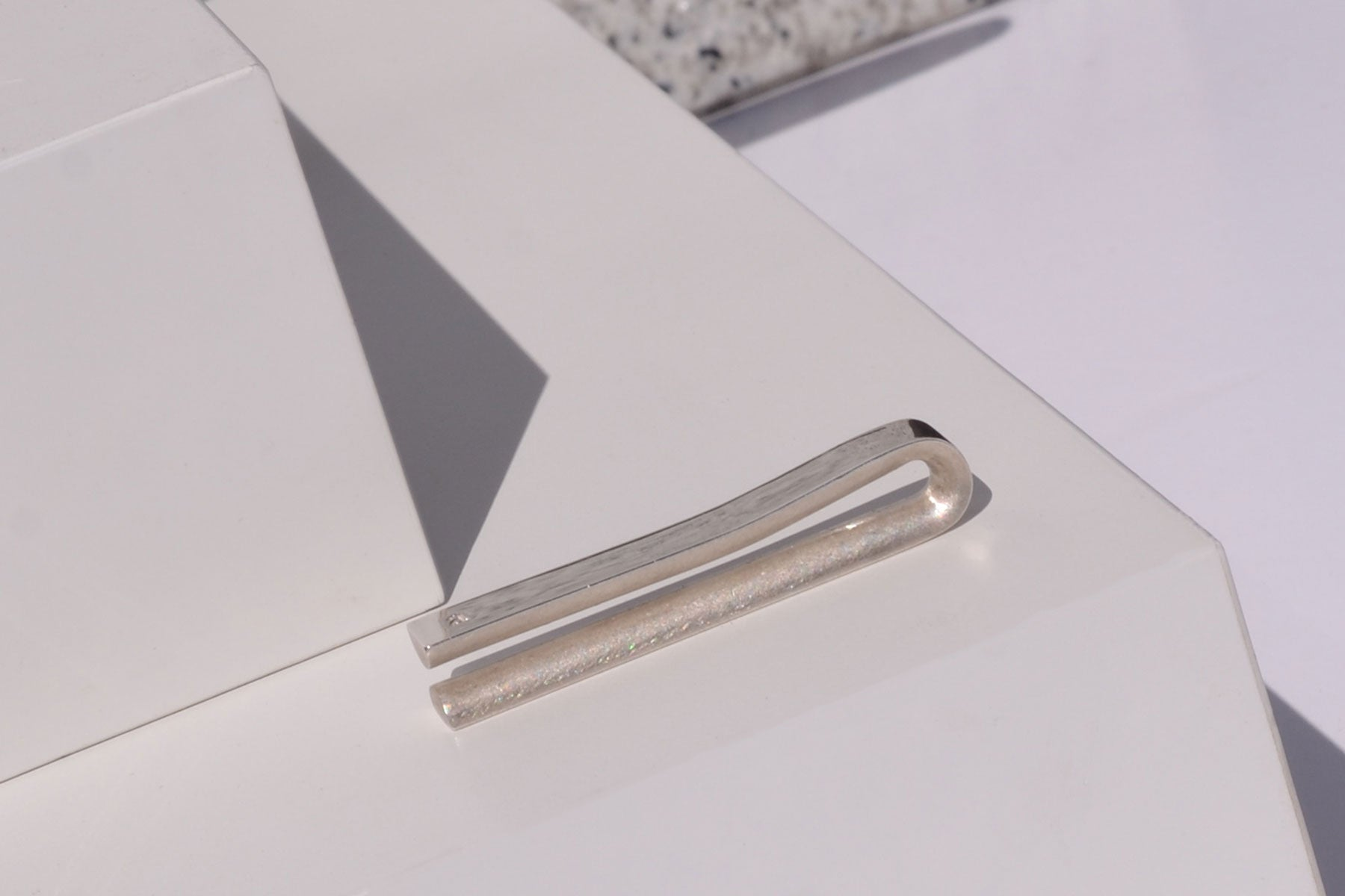 Solid silver tie bar | Alice Made This
