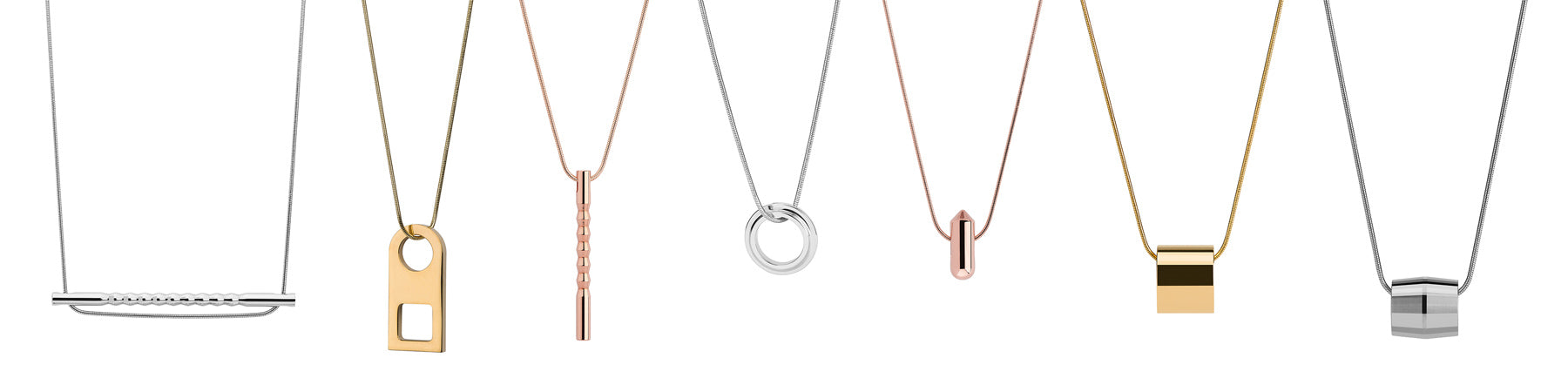 valentines gifts for her | gold necklace | rose gold necklace | silver necklace | statement necklaces