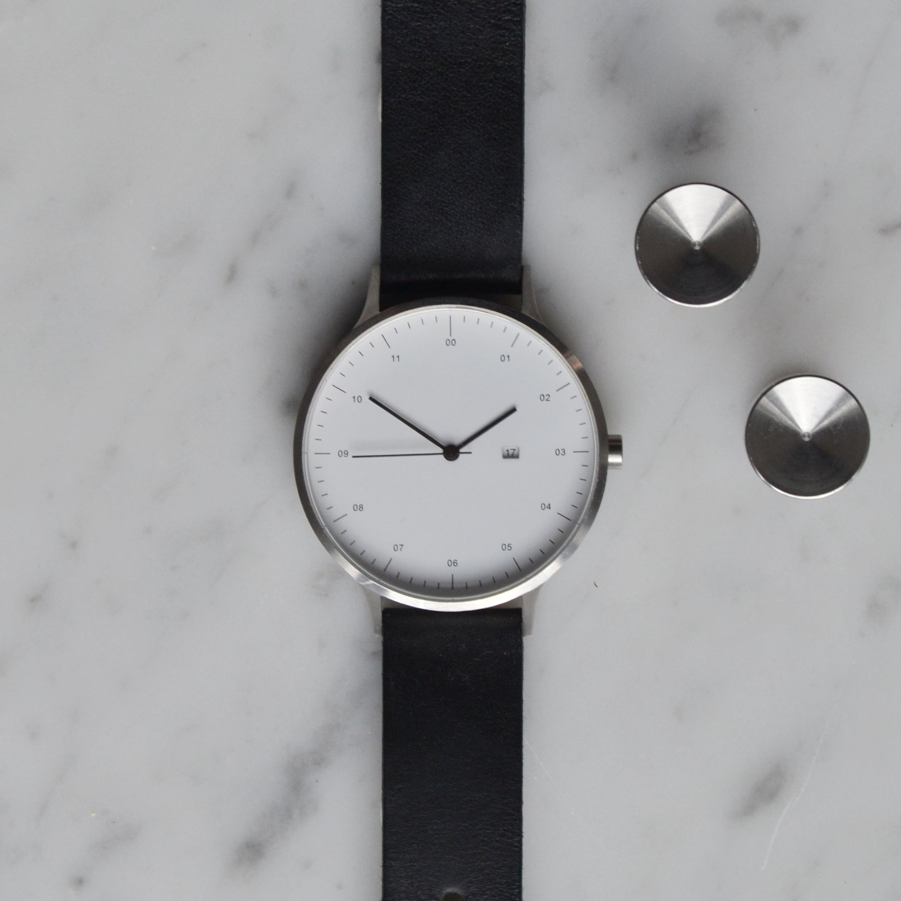 Steel cufflinks | Alice Made This | Instrmnt