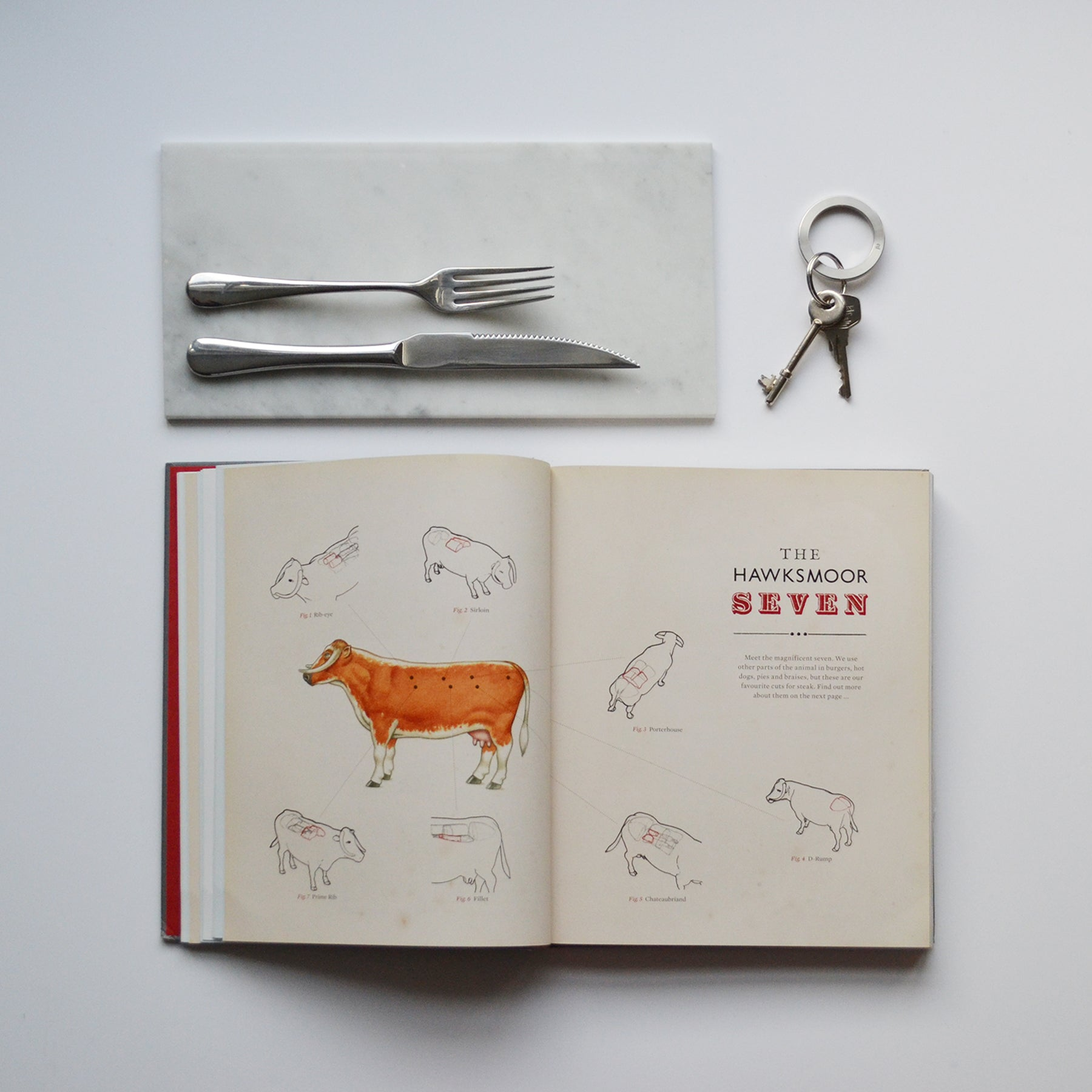 Steel key ring | Hawksmoor | Alice Made This