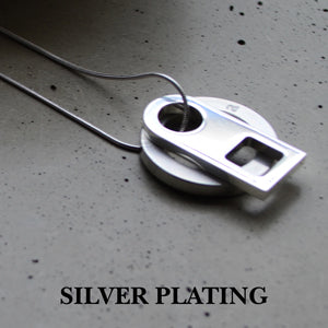 Silver pendant | Alice Made This
