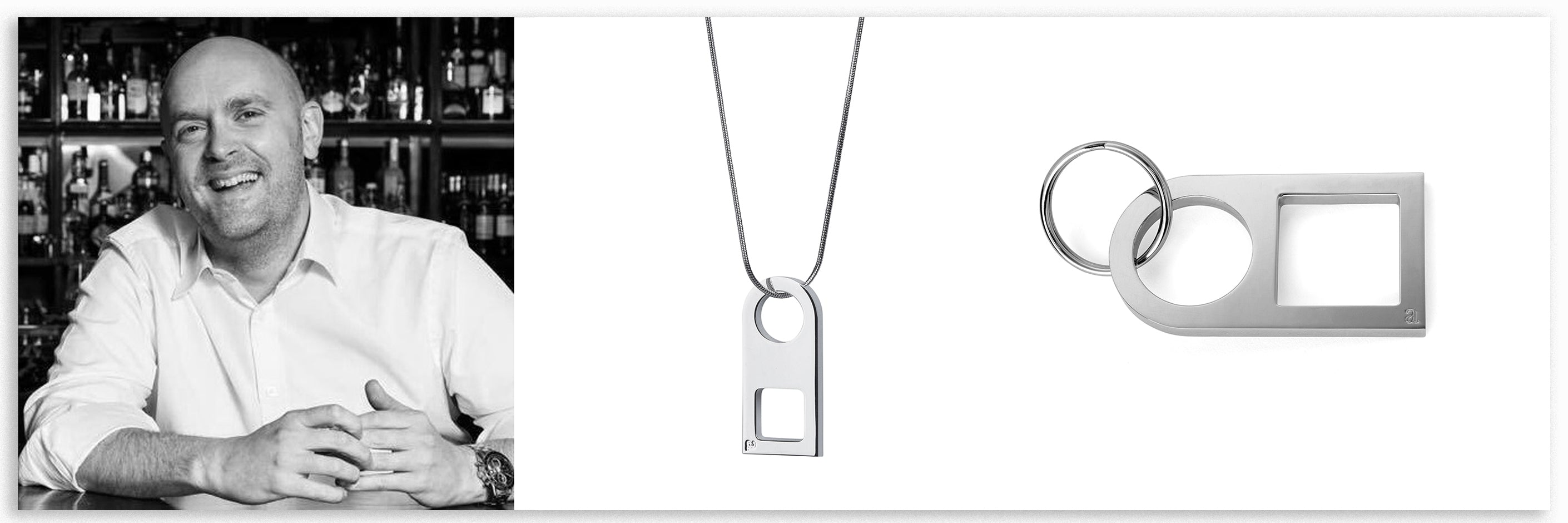 Silver pendant | Silver necklace | Alice Made This