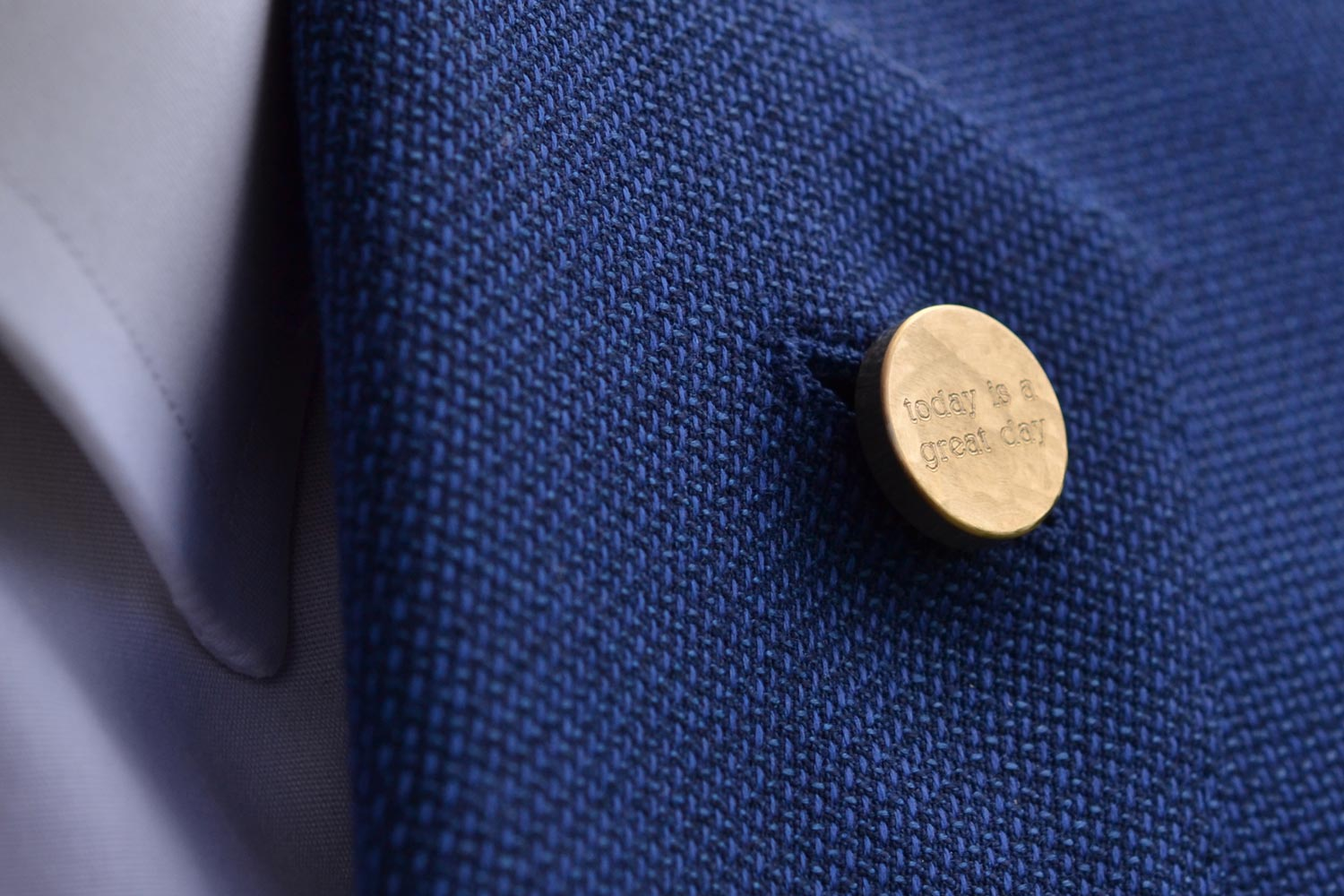 wedding lapel pin | Alice Made This