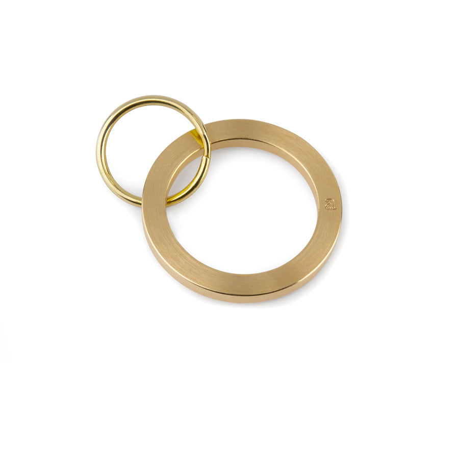 brass keyring | last minute stocking fillers