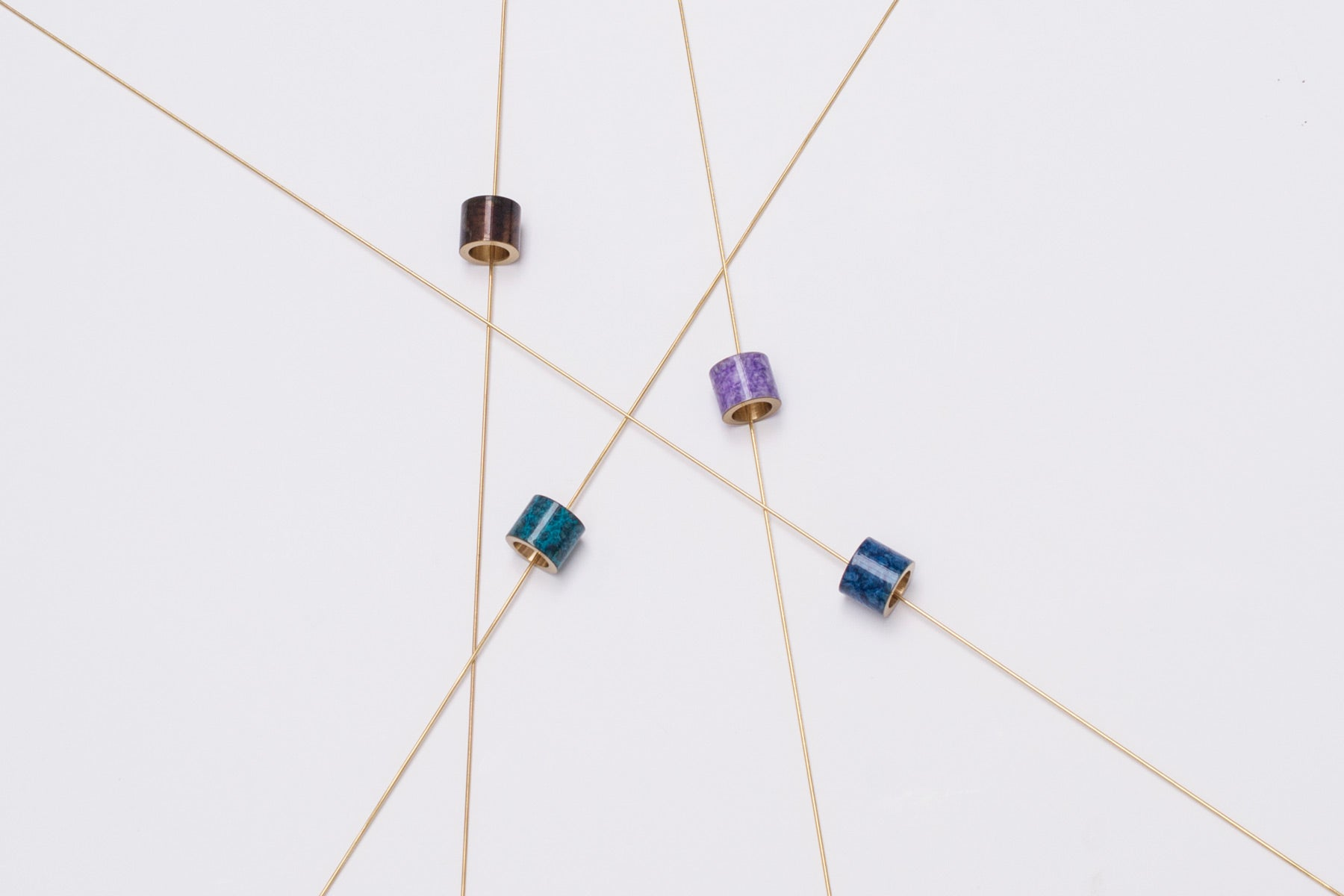 colourful patina necklaces | Alice Made This