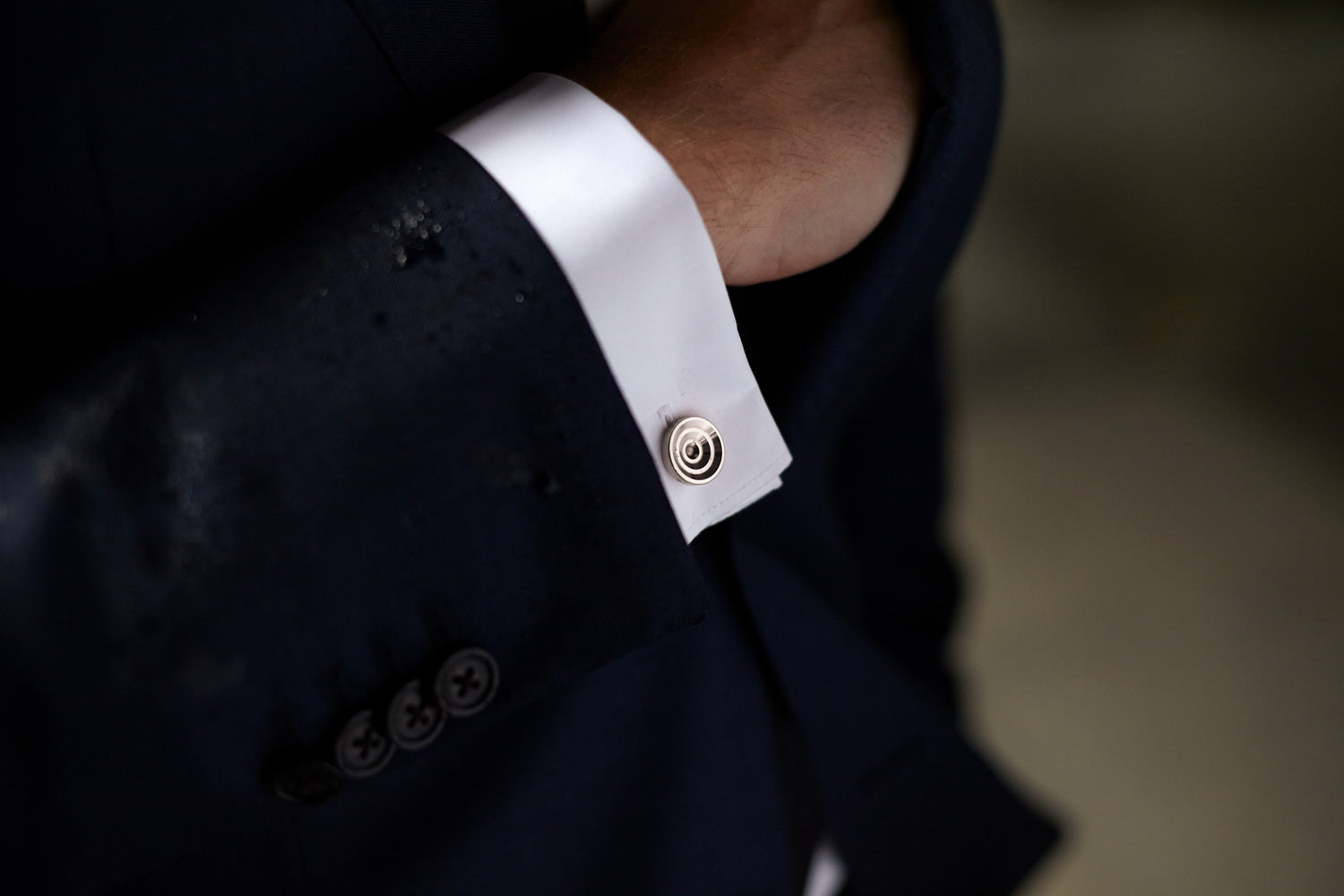cufflinks with a blazer | Alice Made This