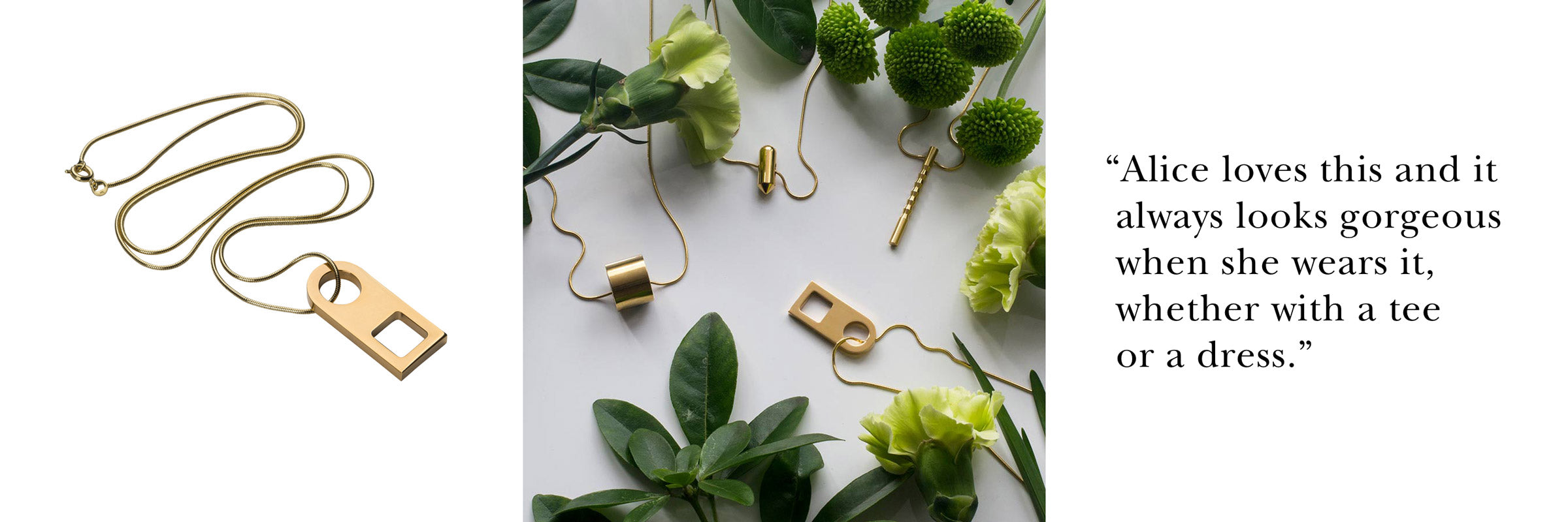 esme gold necklace | gift idea for her