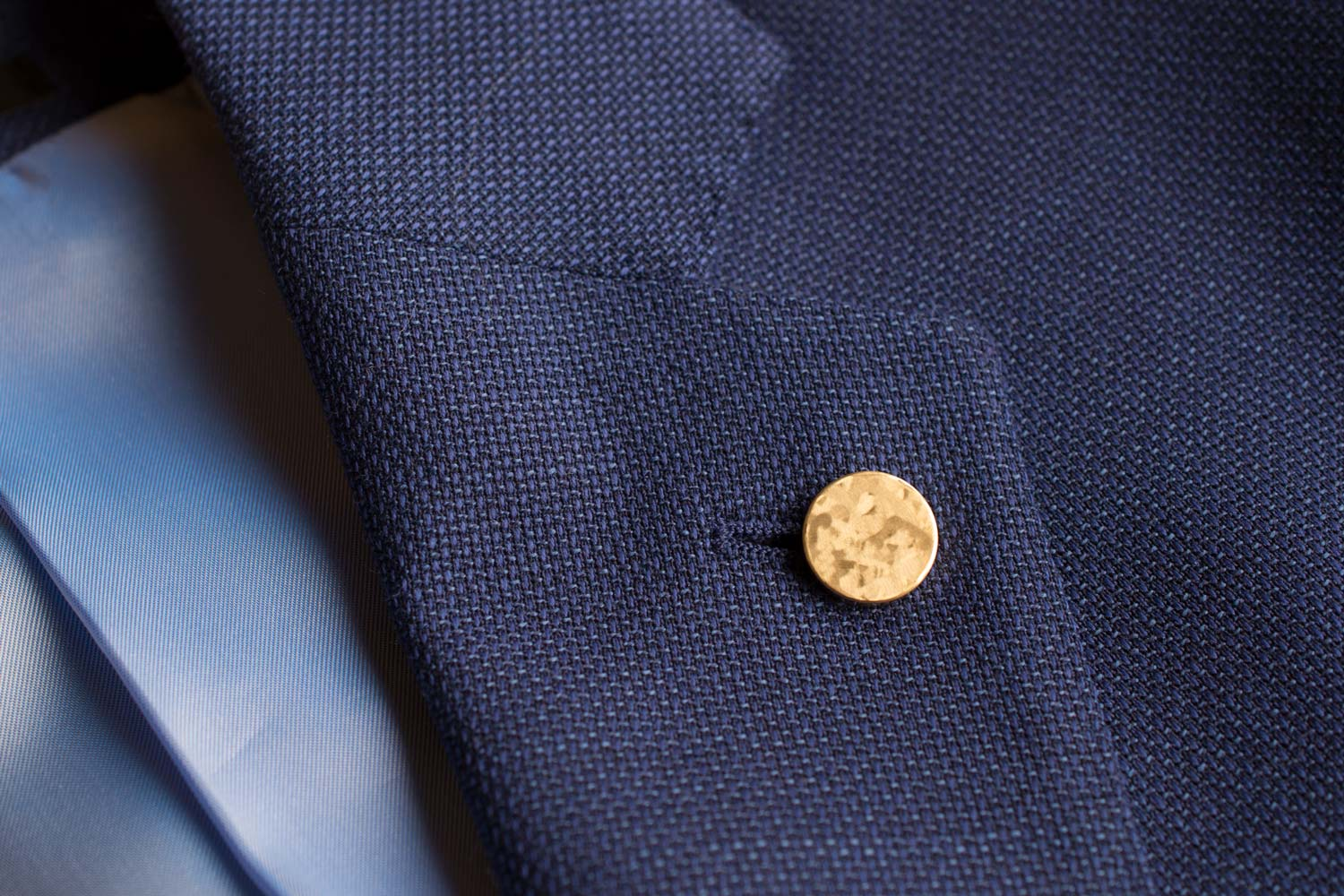 gold lapel pin | Alice Made This