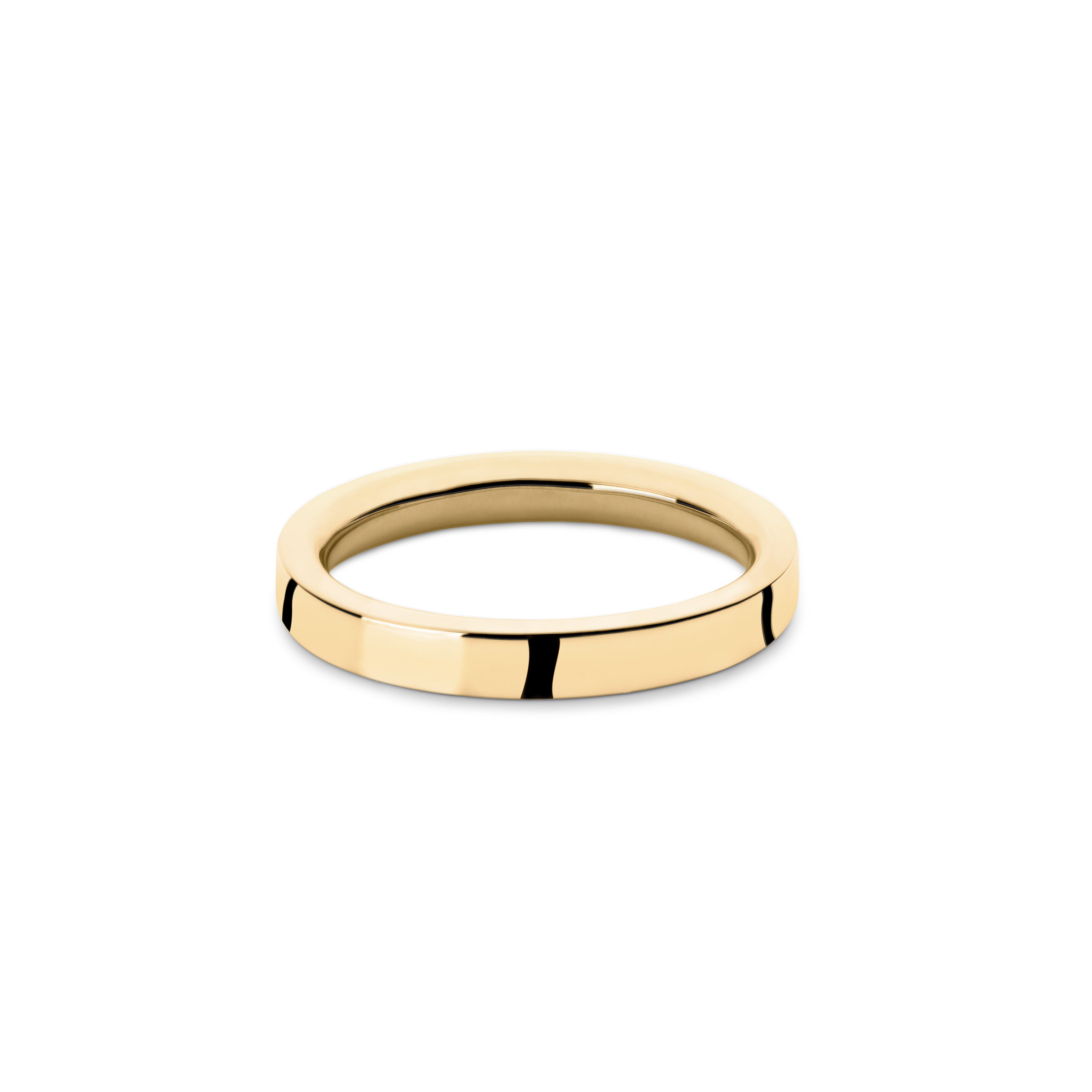 mens solid gold wedding band | designer mens ring | Alice