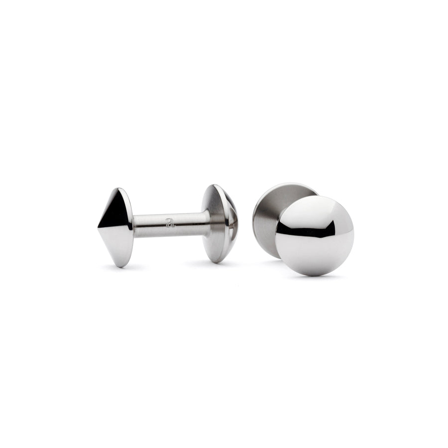 steel cufflinks | last minute stocking fillers