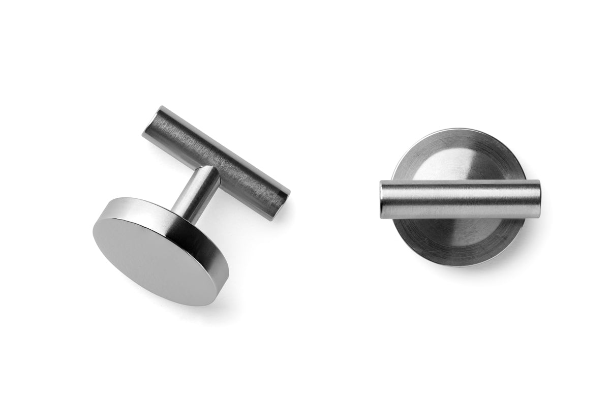 steel cufflinks | men's jewellery | Studio AMT