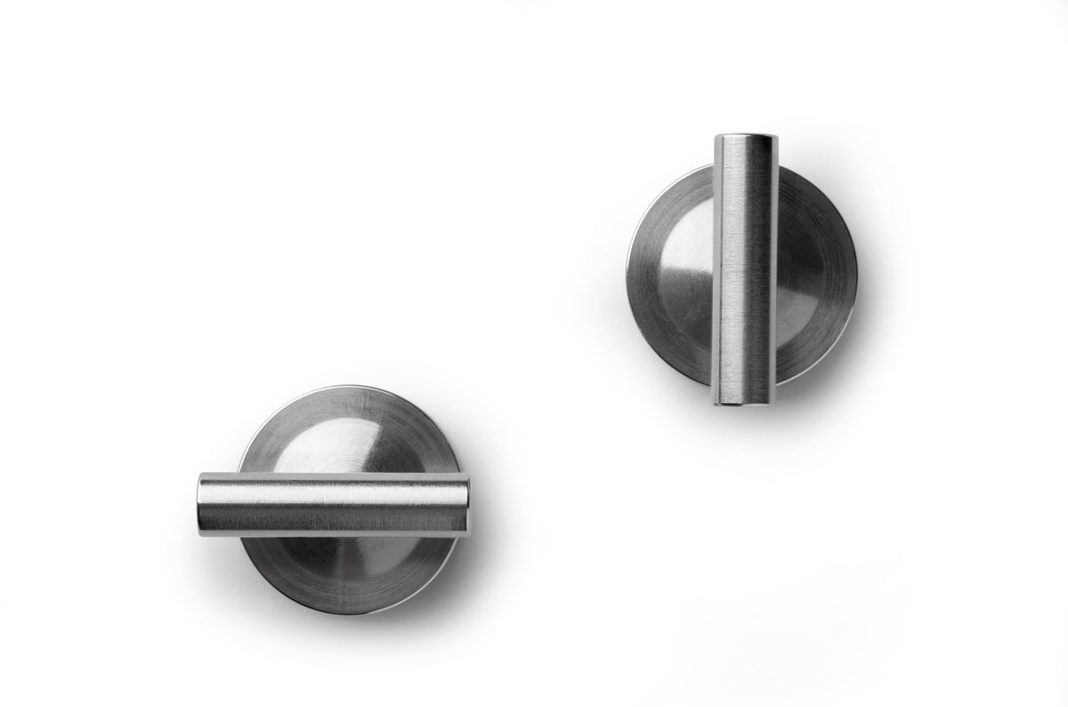 men's steel cufflinks | designer cufflinks | men's accessories