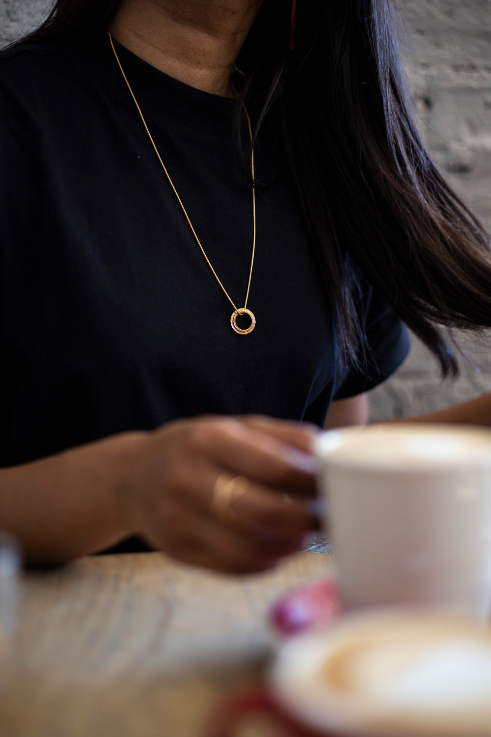 gold necklace | Alice Made This