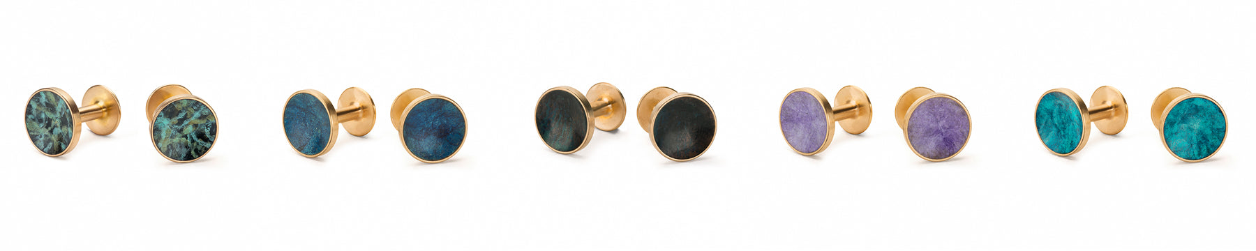 patina cufflinks | Alice Made This