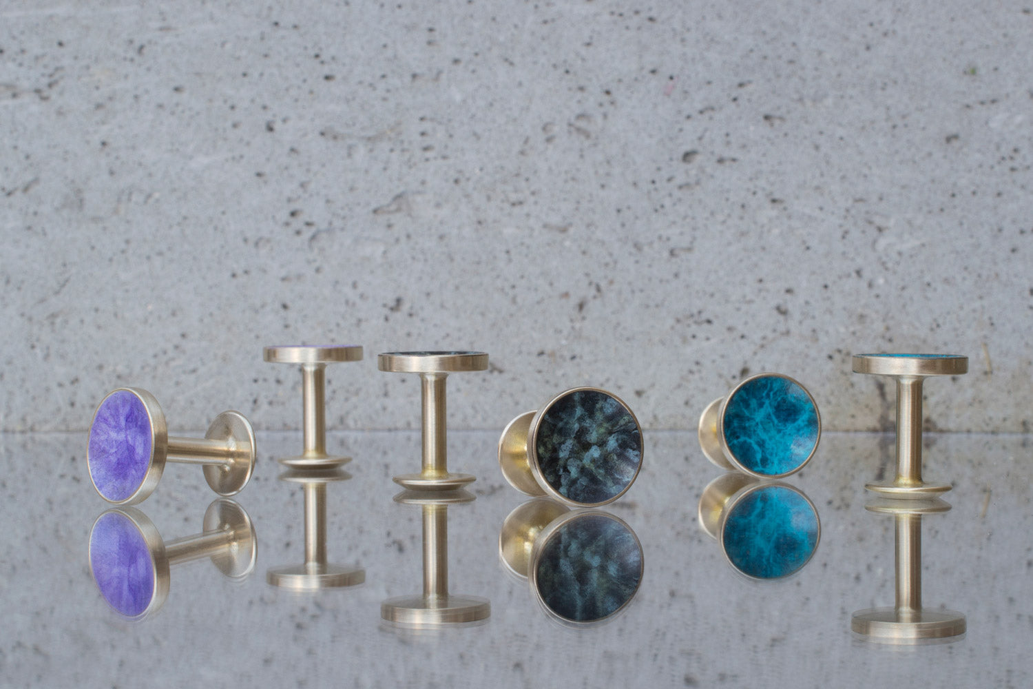 colourful cufflinks | Alice Made This