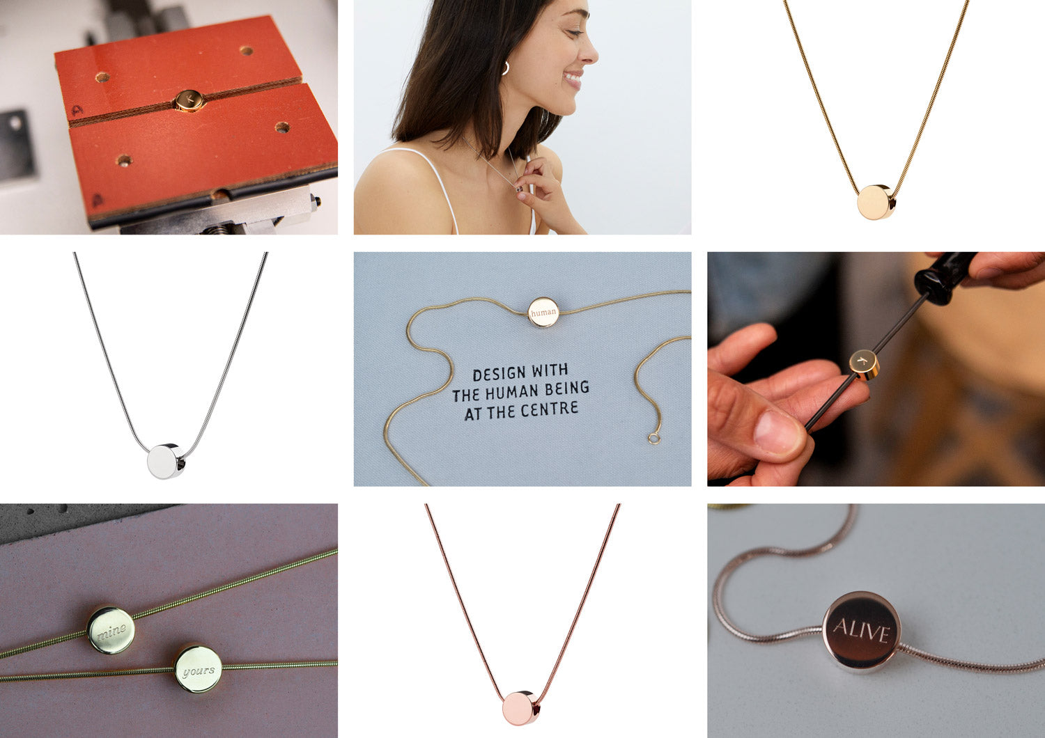 personalised necklaces | Alice Made This