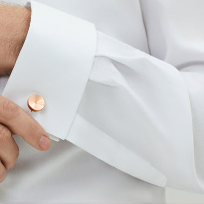 copper cufflinks | precision jewellery | Alice Made This