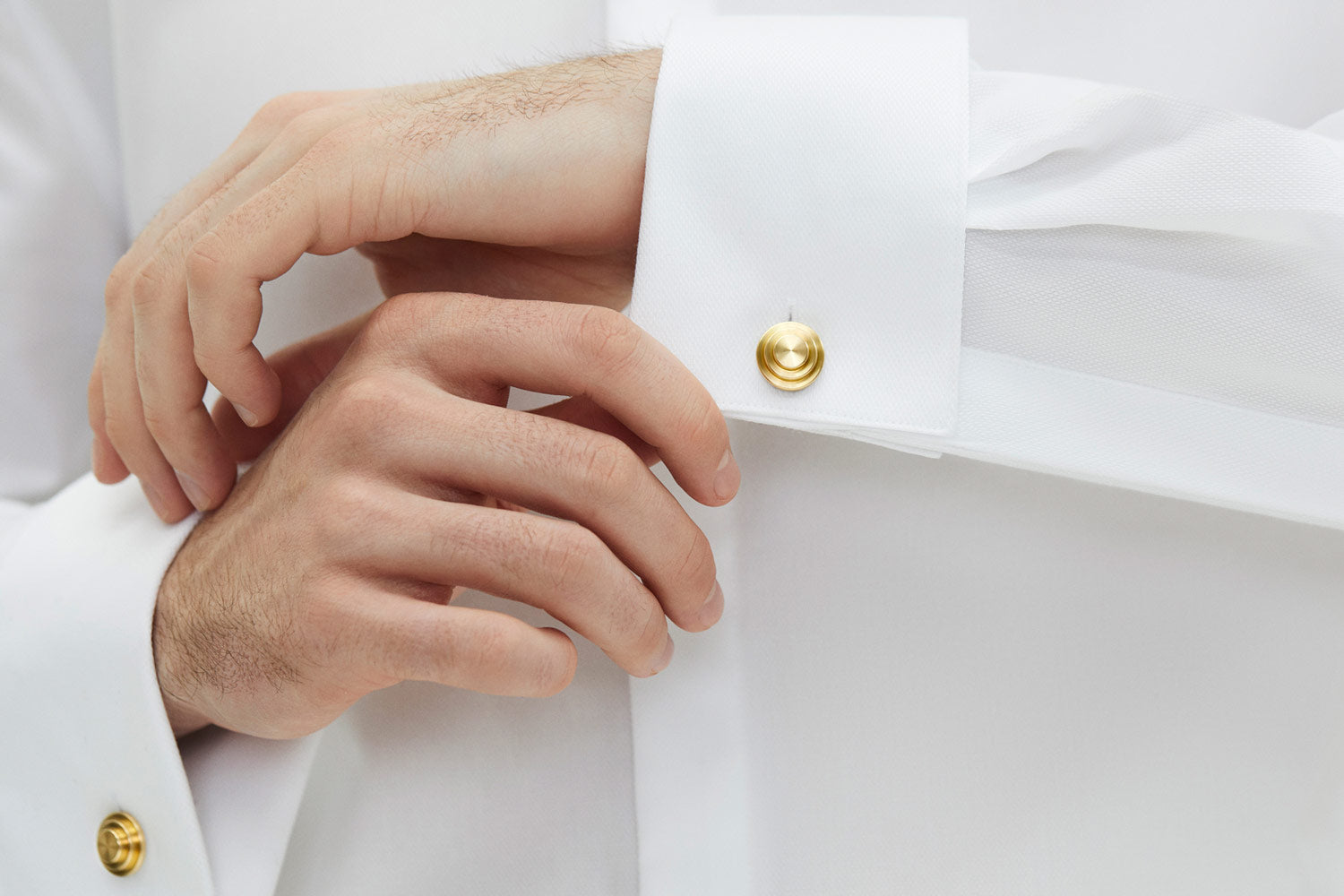 brass cufflinks for work | Alice Made This