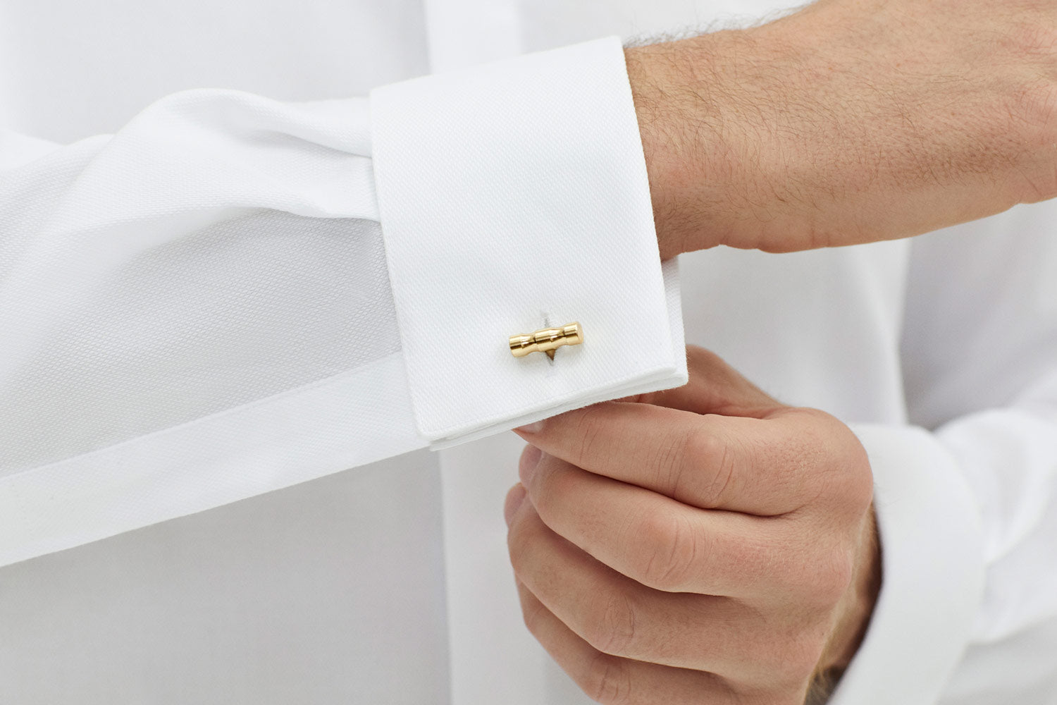 gold cufflinks for work | Alice Made This