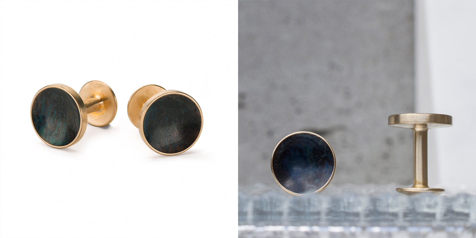 black cufflinks | Alice Made This