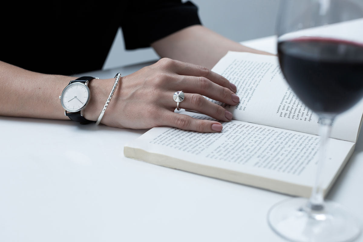 statement ring | uniformwares watch