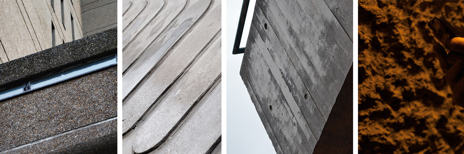 textures | inspired by brutalism