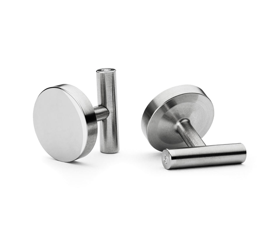 Steel cufflinks | Alice Made This