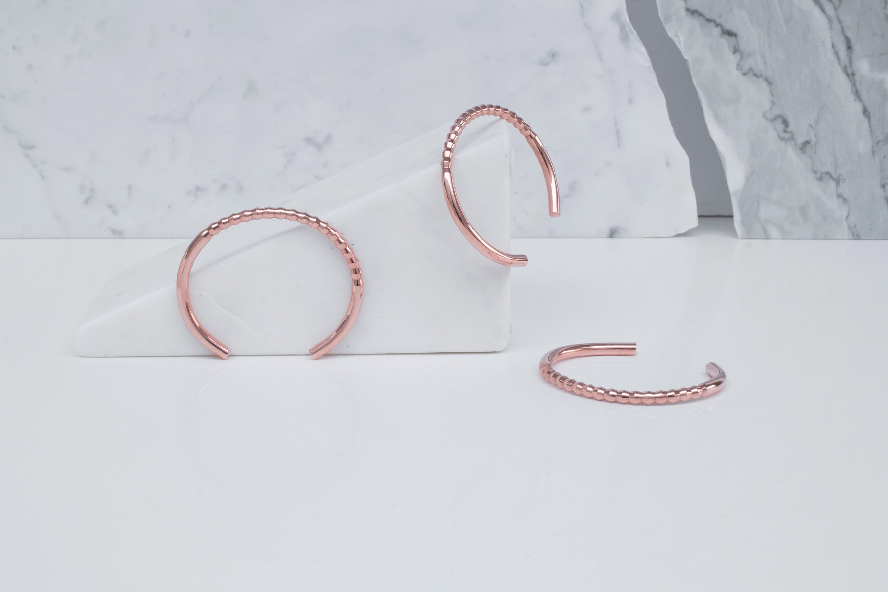 rose gold bridesmaids bracelets