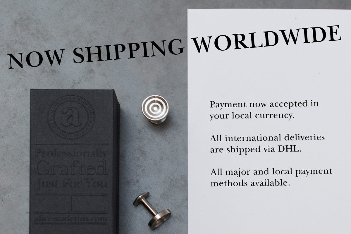 worldwide shipping | Alice Made This