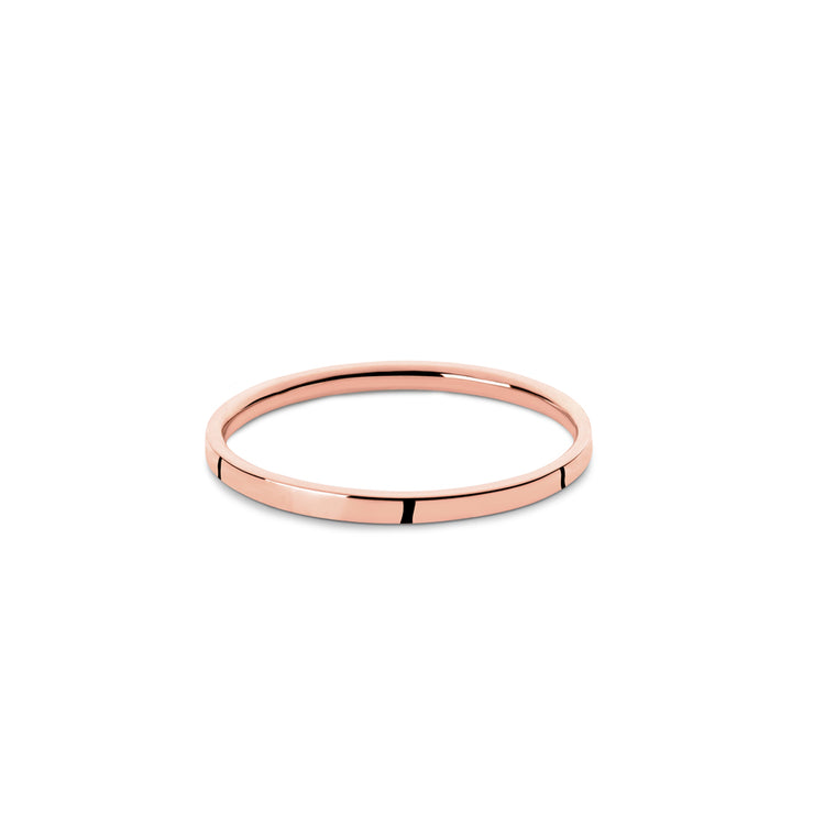 2mm rose gold wedding ring