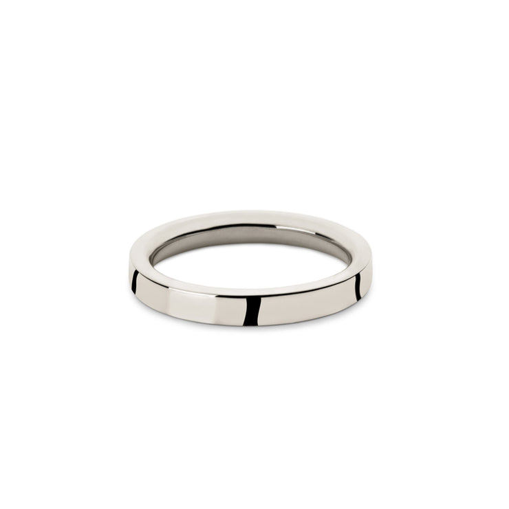 18 carat white gold wedding ring | wedding band